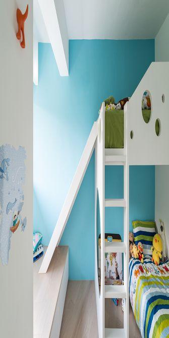 80平米三室一厅日式风格儿童房欣赏图