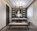 130平米三现代简约风格书房装修效果图