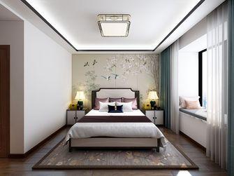 130平米一室两厅中式风格卧室图片