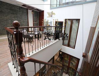 20万以上140平米别墅中式风格楼梯图