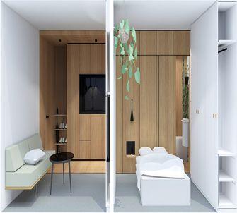 50平米一室一厅日式风格客厅设计图