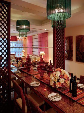100平米东南亚风格餐厅效果图