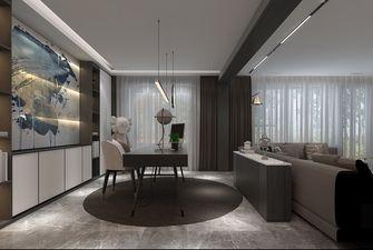 140平米三室三厅现代简约风格书房图