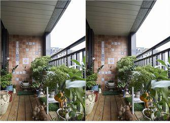 经济型90平米其他风格阳台设计图