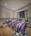 100平米三室两厅法式风格儿童房装修案例