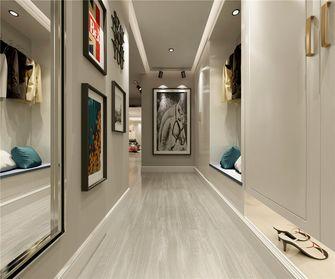 富裕型80平米英伦风格走廊效果图