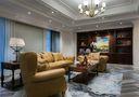 140平米四室三厅法式风格书房欣赏图