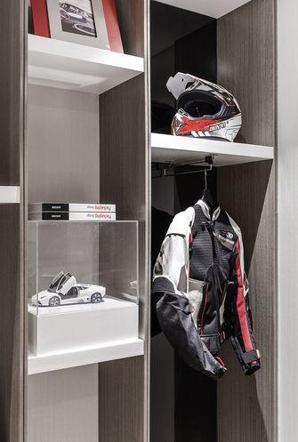 90平米三室一厅现代简约风格衣帽间欣赏图