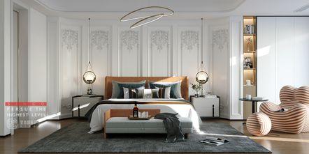 140平米三室四厅现代简约风格卧室欣赏图