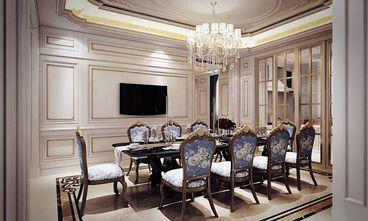 120平米别墅法式风格餐厅图片
