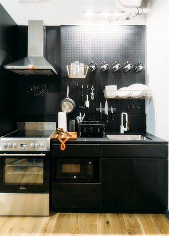 90平米三室两厅混搭风格厨房图片
