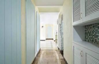 90平米三室两厅地中海风格走廊装修案例