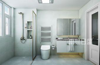 140平米三室两厅美式风格卫生间欣赏图