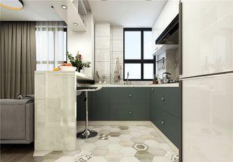 110平米三室两厅北欧风格厨房图片