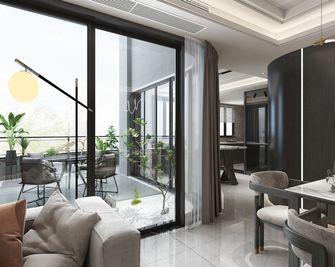 140平米四室三厅现代简约风格阳台效果图