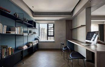 120平米三室两厅现代简约风格书房装修图片大全
