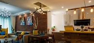 80平米混搭风格客厅装修案例