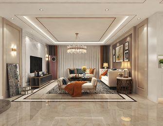140平米三室两厅混搭风格客厅图片大全