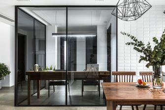140平米三室五厅现代简约风格书房装修效果图