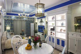 120平米三室两厅地中海风格餐厅设计图
