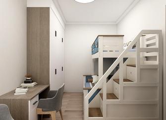 80平米一室一厅现代简约风格儿童房欣赏图