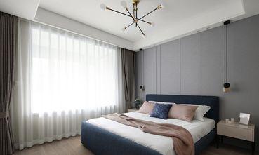 90平米三现代简约风格卧室设计图
