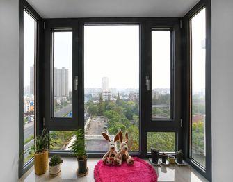 140平米三室一厅欧式风格阳台图片大全