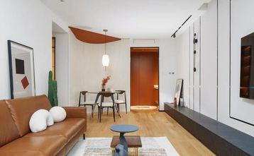 80平米三宜家风格客厅欣赏图