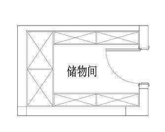 豪华型140平米别墅欧式风格储藏室图