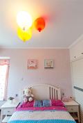 90平米三室两厅欧式风格儿童房设计图