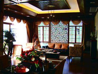120平米三室两厅东南亚风格客厅设计图
