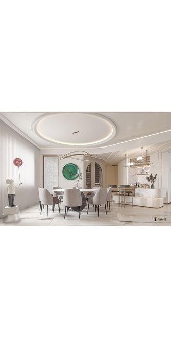 140平米四欧式风格餐厅效果图