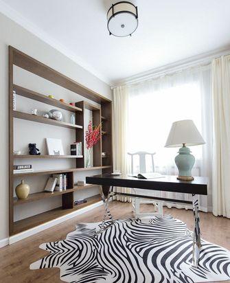 90平米中式风格书房装修案例