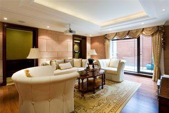 豪华型140平米别墅英伦风格影音室装修效果图