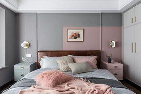 15-20萬120平米三室一廳現代簡約風格臥室圖片
