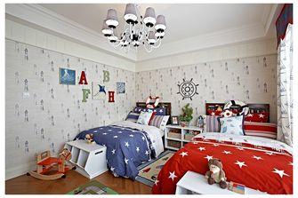 140平米复式田园风格儿童房效果图