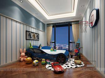 140平米三室一厅欧式风格儿童房装修案例