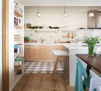 90平米公寓日式风格厨房欣赏图