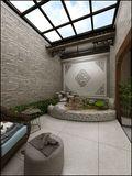 中式风格阳光房设计图