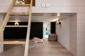 80平米复式北欧风格阁楼设计图