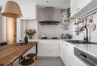 60平米一室两厅现代简约风格厨房设计图