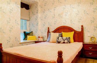 120平米三美式风格卧室欣赏图