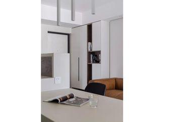 60平米现代简约风格餐厅装修图片大全