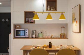 60平米一室两厅日式风格餐厅效果图