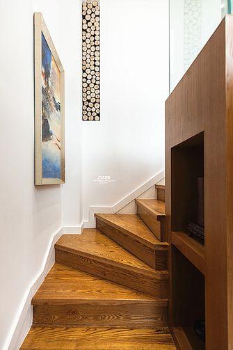 120平米混搭风格楼梯间图