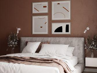 80平米一室两厅北欧风格卧室图