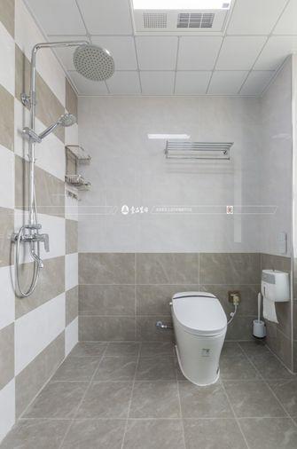 130平米三室三厅混搭风格卫生间图