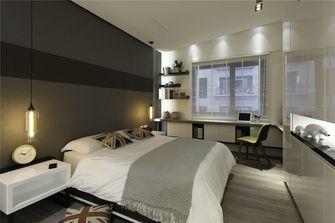70平米英伦风格卧室图片