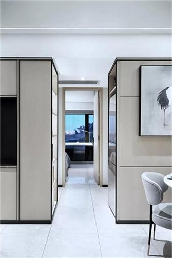 80平米新古典风格走廊装修案例