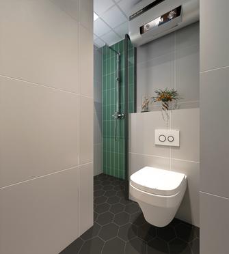 110平米三室一厅北欧风格卫生间装修图片大全